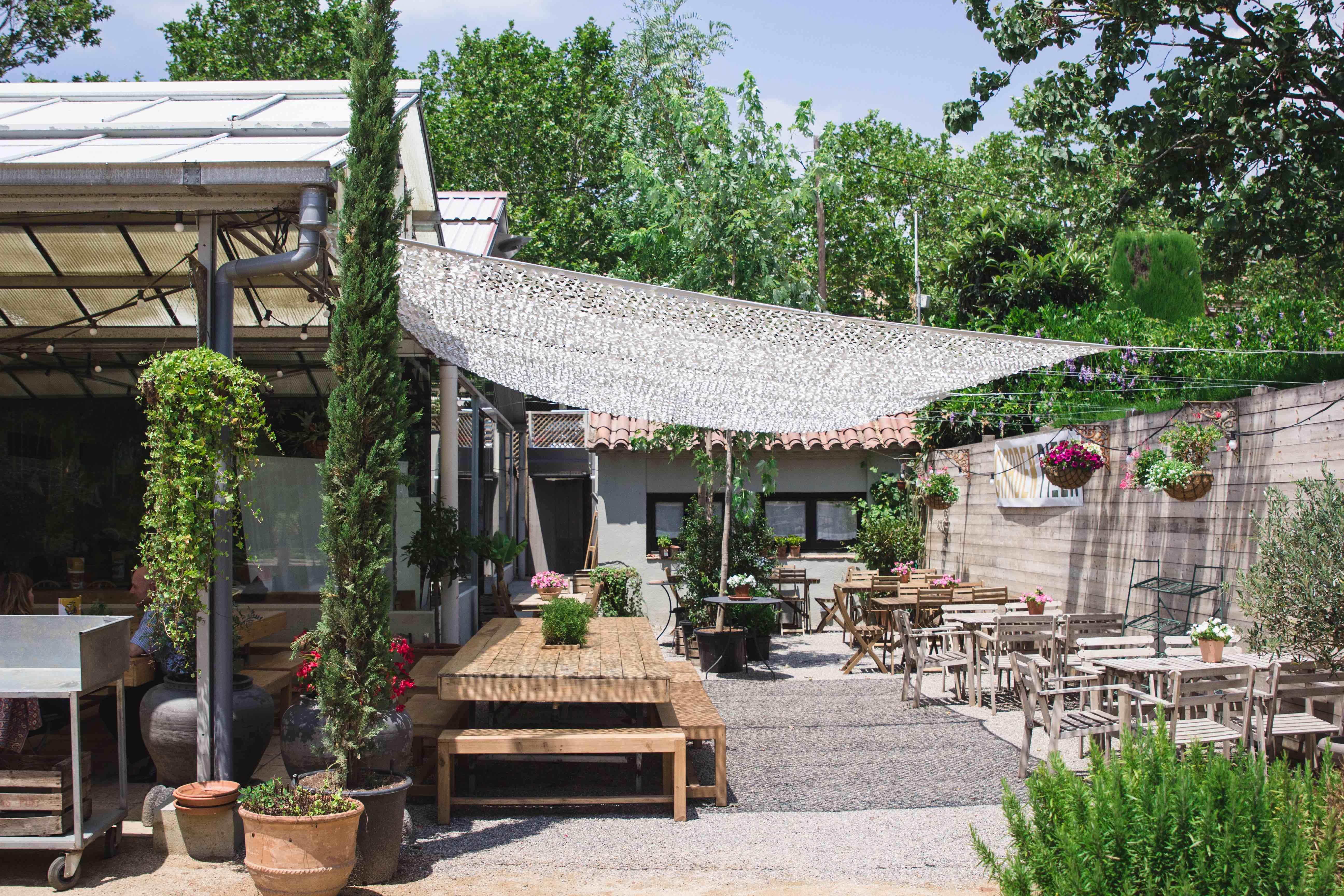 Terrassa Garden Pizza FOTO: Cedida
