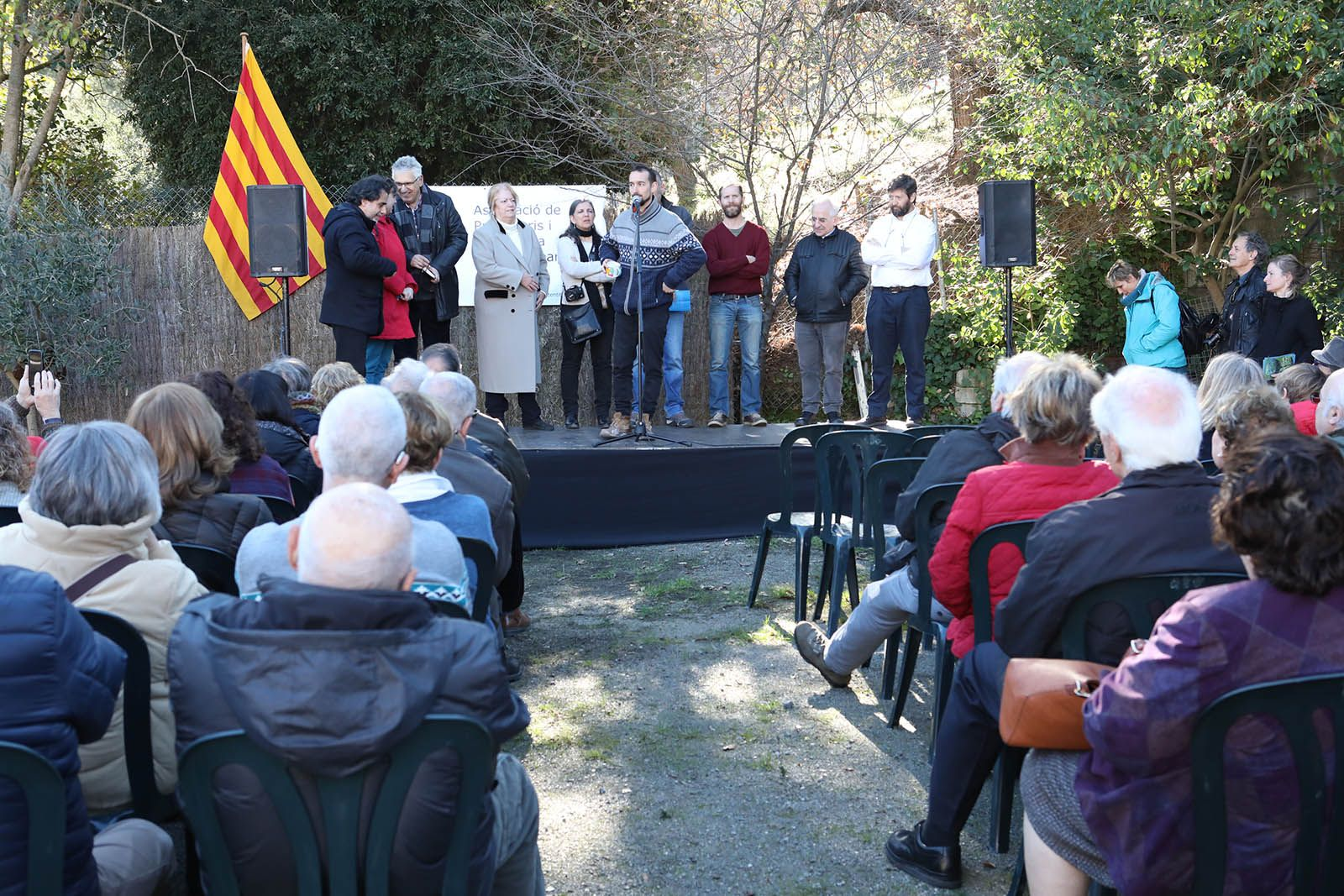 Presentació del Centenari de la Floresta. Foto: Lali Álvarez