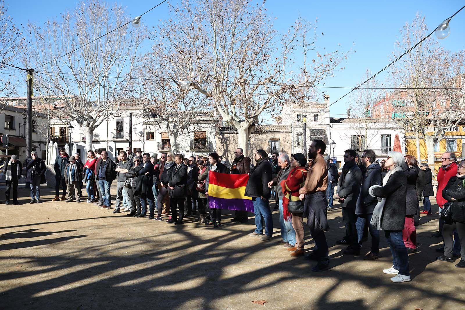 Jornada d'homenatge a les víctimes del franquisme. Foto: Lali Álvarez