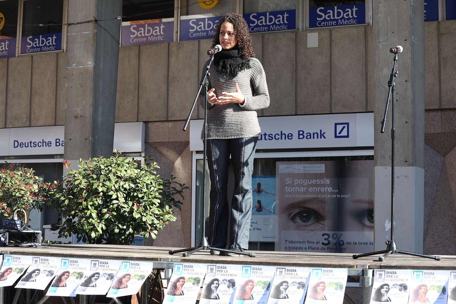 Jornada per a la no violència. Foto: Lali Álvarez
