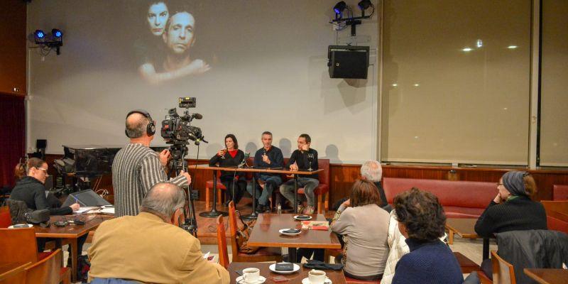 'Parlem de...' 'La dansa de la venjança' al Cafè Auditori. FOTO: Localpres