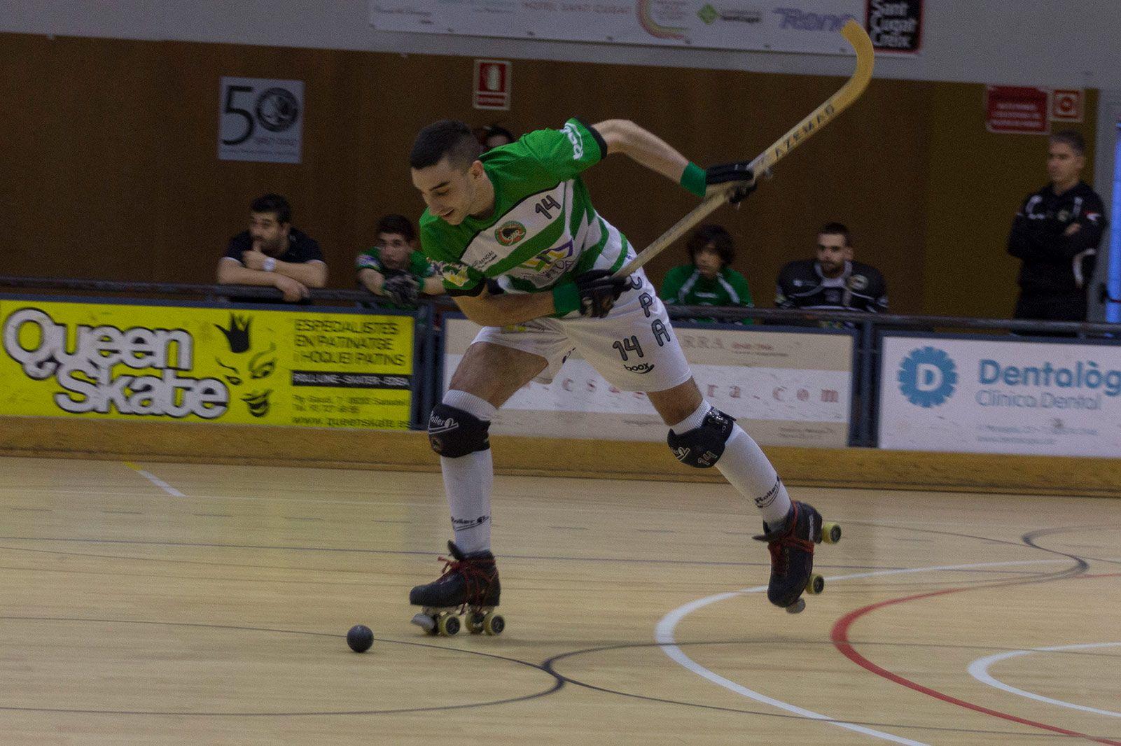 Partit de lliga PHC Sant Cugat - CP Alcobendas. FOTO: Paula Galván