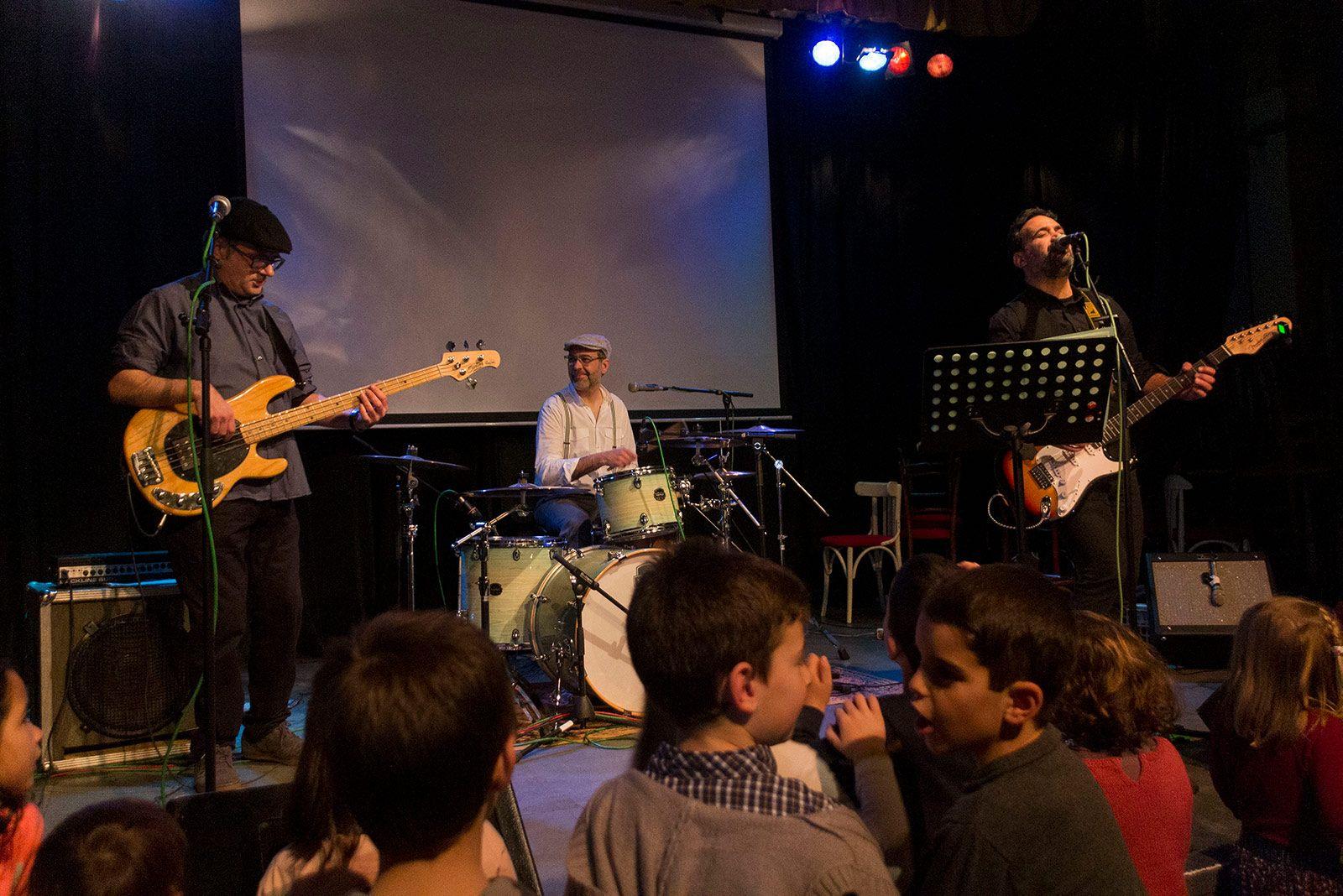 Concert solidari contra el Càncer infantil al Siglo. FOTO: Paula Galván