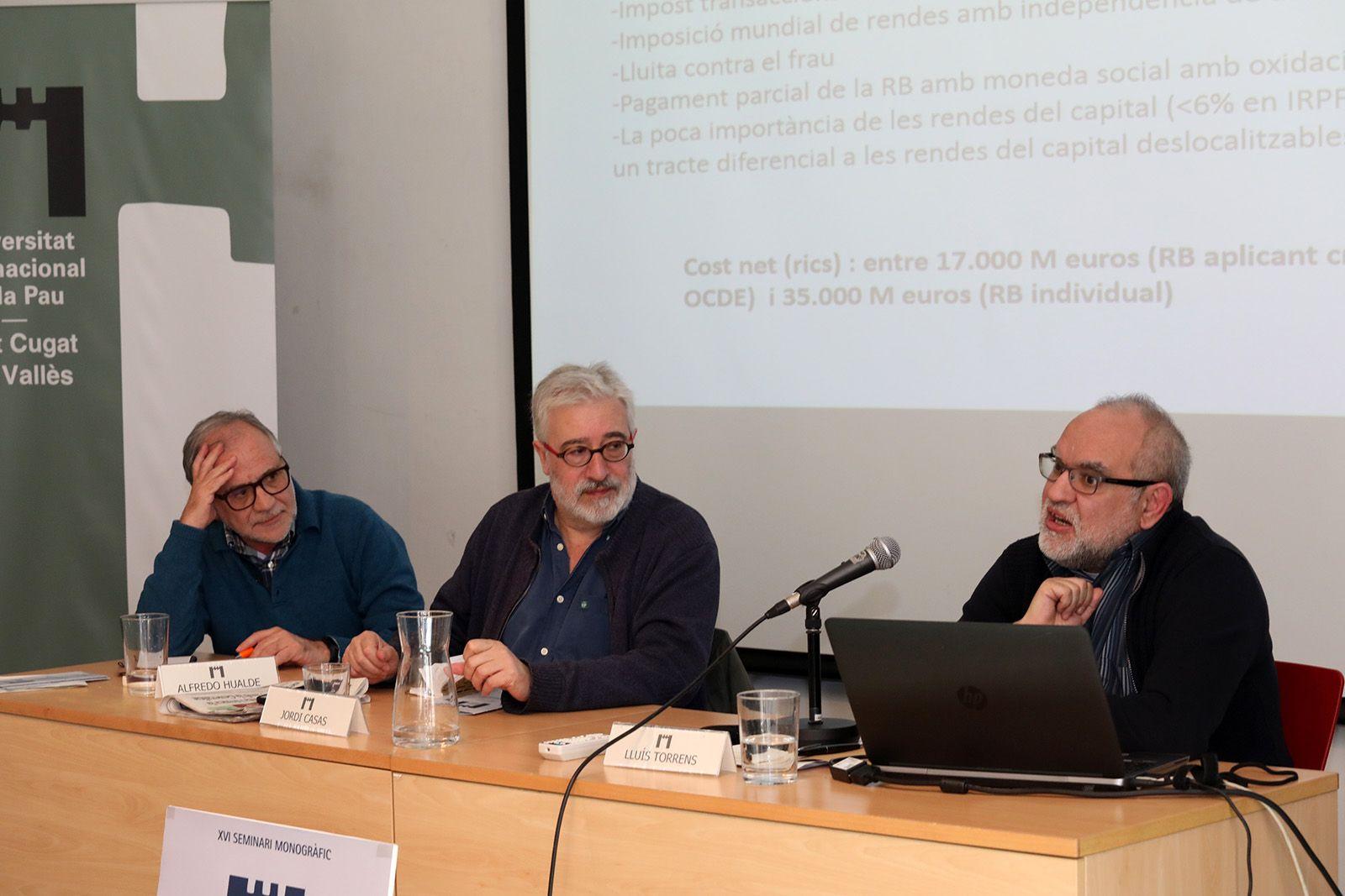 Seminari de Unipau a la Casa de Cultura. Foto: Lali Álvarez