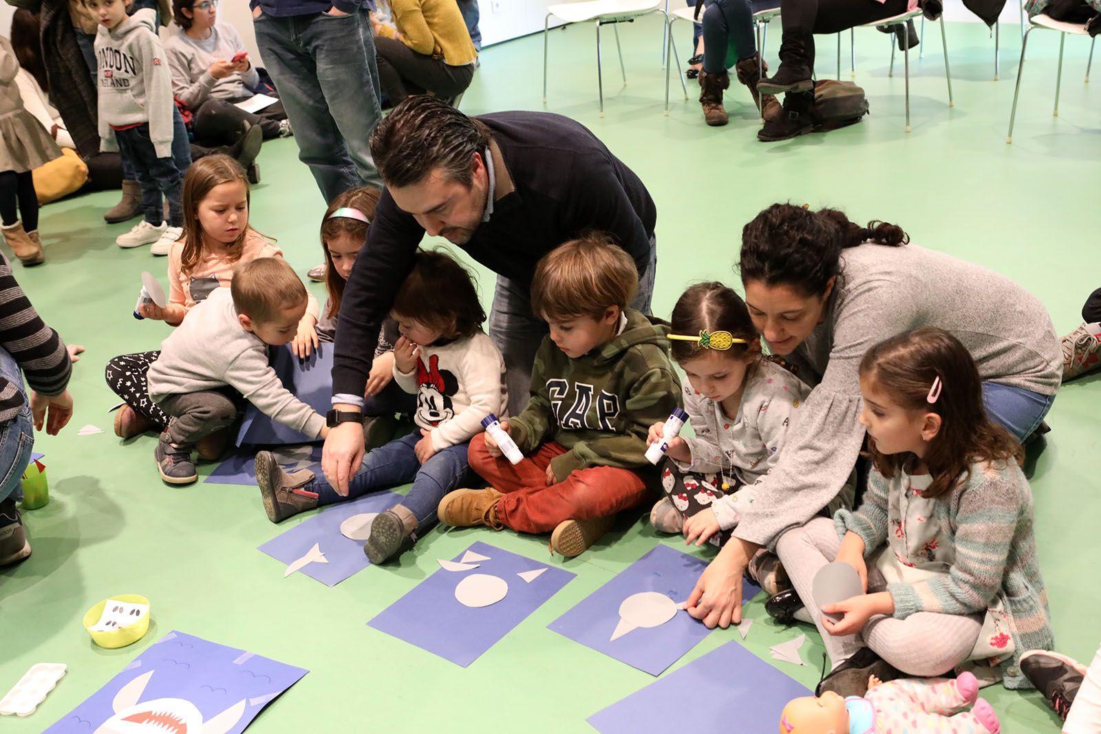 L'hora del conte a la Biblioteca de Volpelleres. Foto: Lali Álvarez
