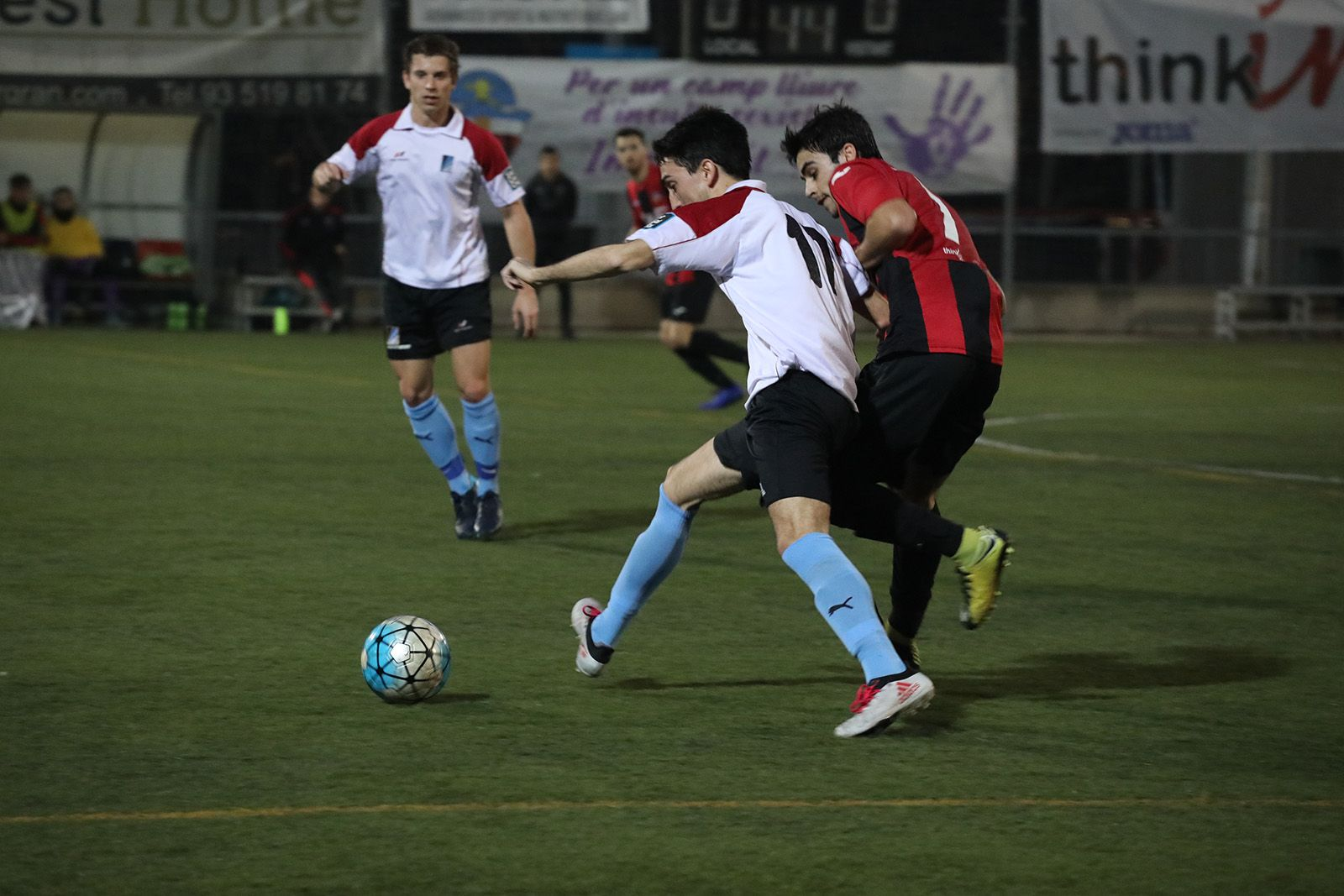 Derbi: Sant Cugat FC B- Junior FC. Foto: Lali Álvarez