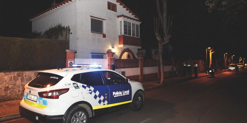 Quatre detinguts per un robatori en una casa de Valldoreix