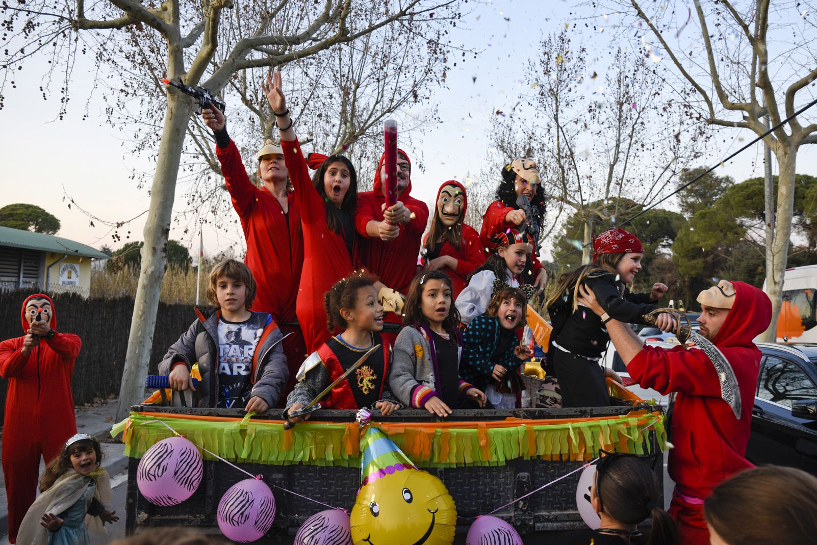 Carnaval complex esportiu de Valldoreix. Foto: Bernat Millet.