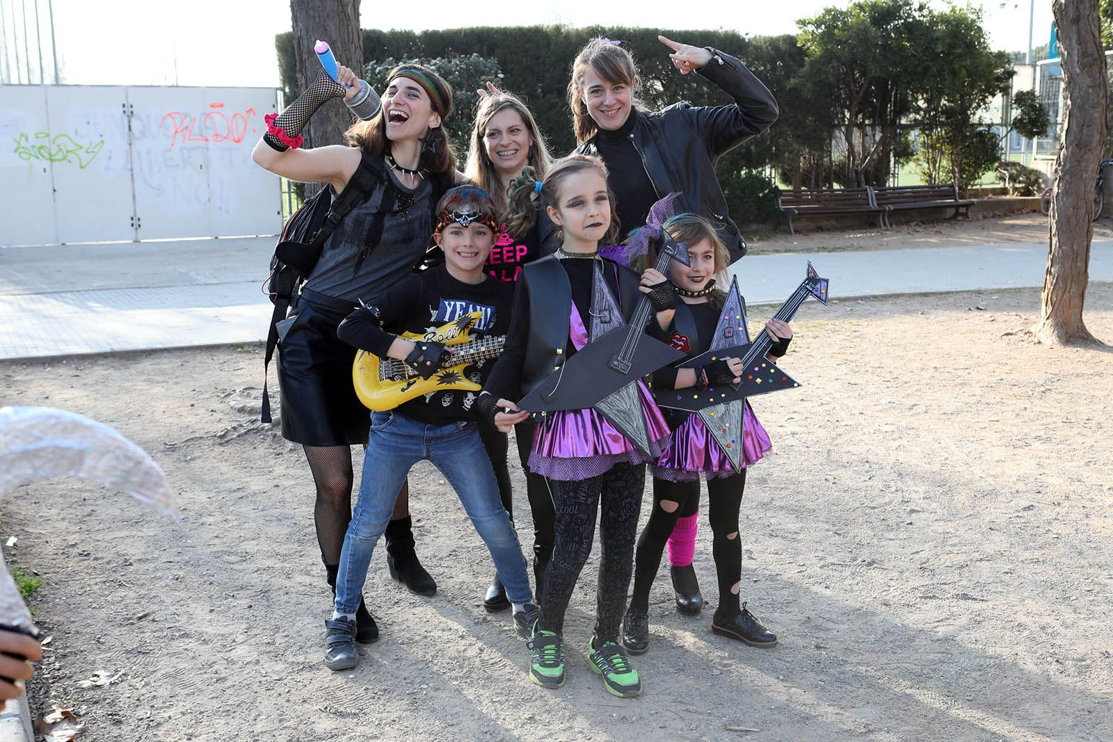 Carnaval a Mirasol. Foto: Lali Álvarez