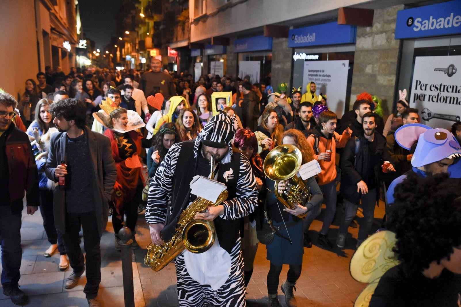 Cercatasques de Carnaval. Foto: Bernat Millet.