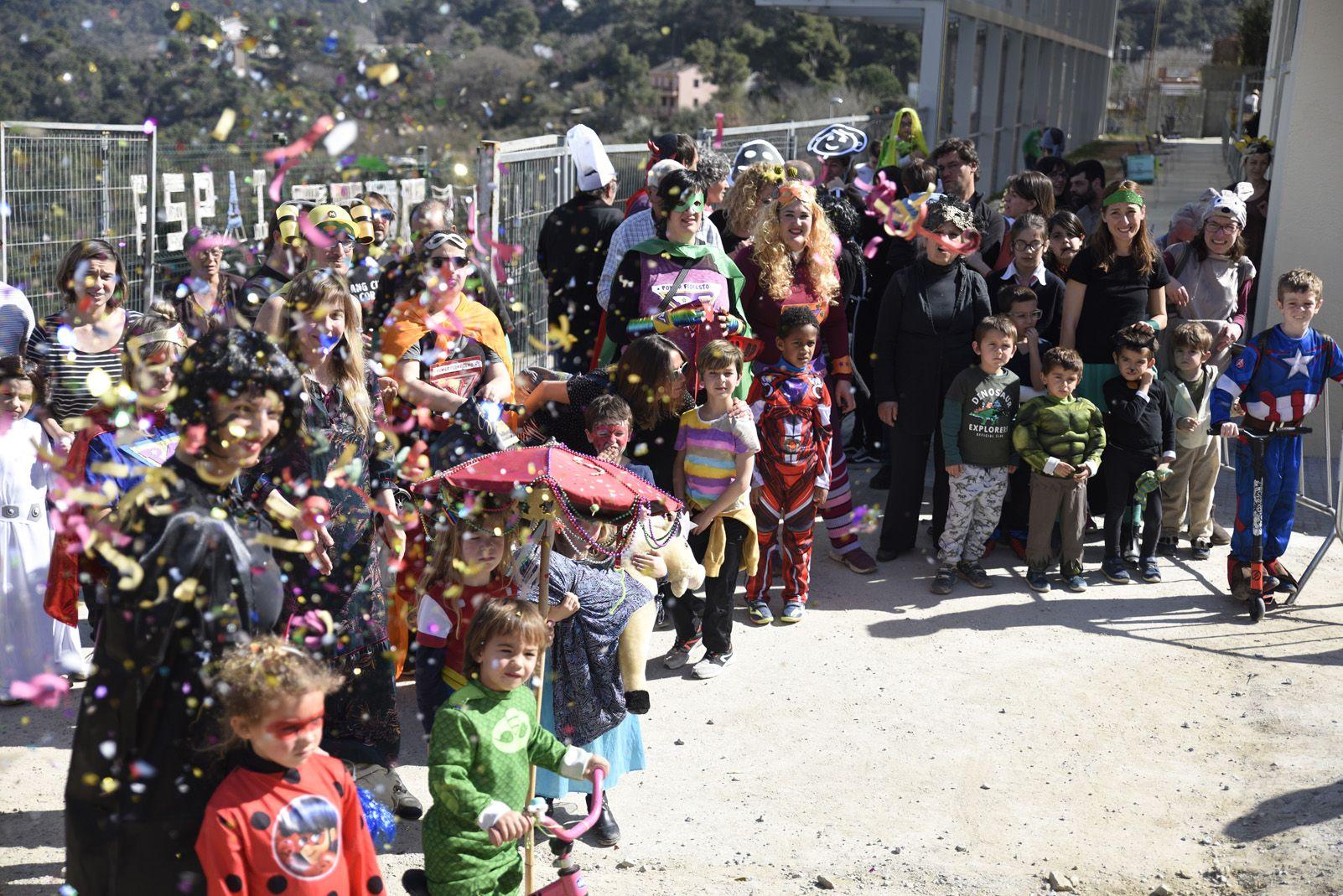 Judici al Rei Carnestoltes del Carnaval de Les Planes. Foto: Bernat Millet.