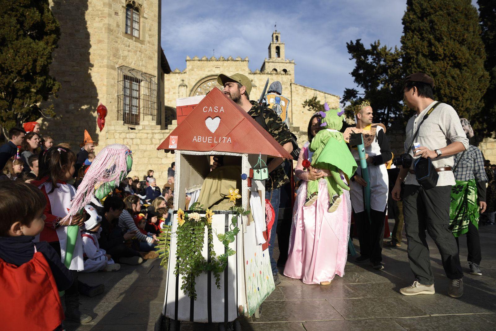 Concurs de comparses del Carnaval Infantil. Bernat Millet.
