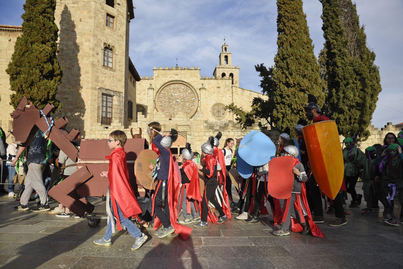 Concurs de comparses del Carnaval Infantil. Foto: Bernat Millet.