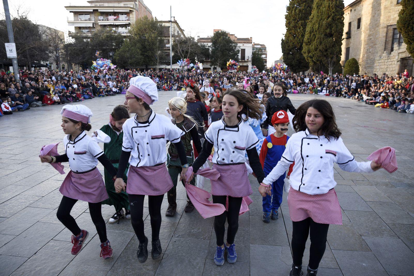 Gitanetes i giovenetes de Carnaval. Foto: Bernat Millet.