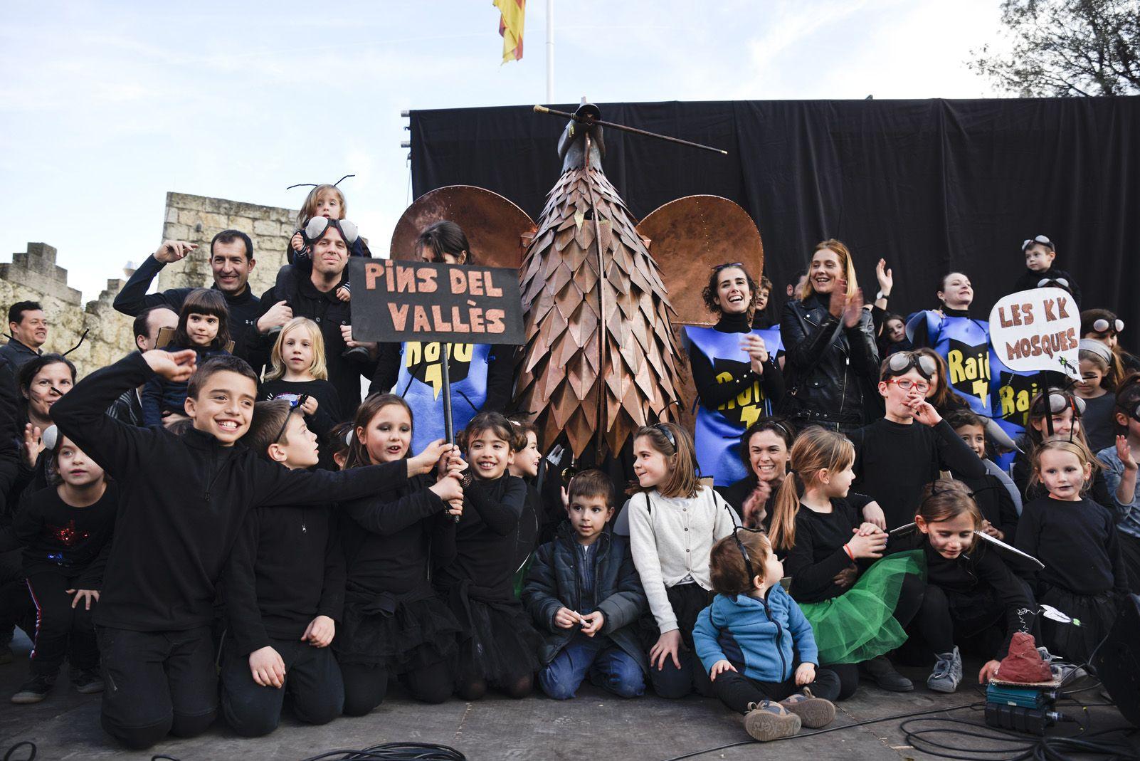 Guanyadors de comparses del Carnaval Infantil. Foto: Bernat Millet.