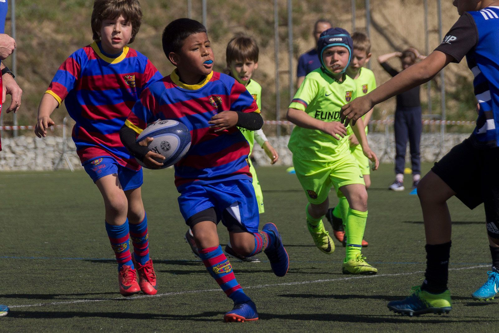 Torneig Jon Reca de rugby. FOTO: Paula Galván