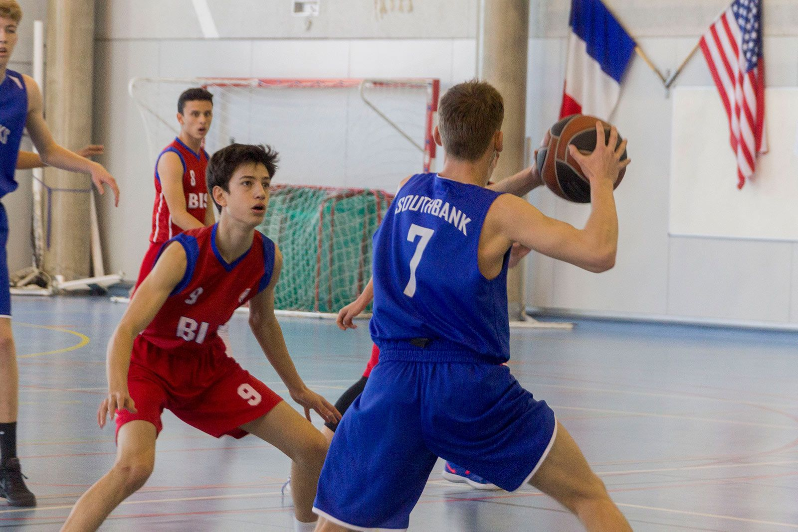 Torneig ISSA de bàsquet masculí. FOTO: Paula Galván