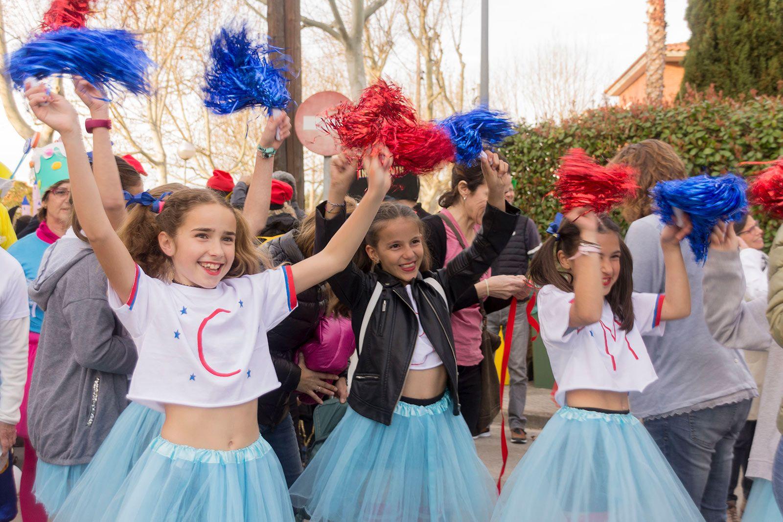Rua de Carnaval de Mas Gener. FOTO: Paula Galván