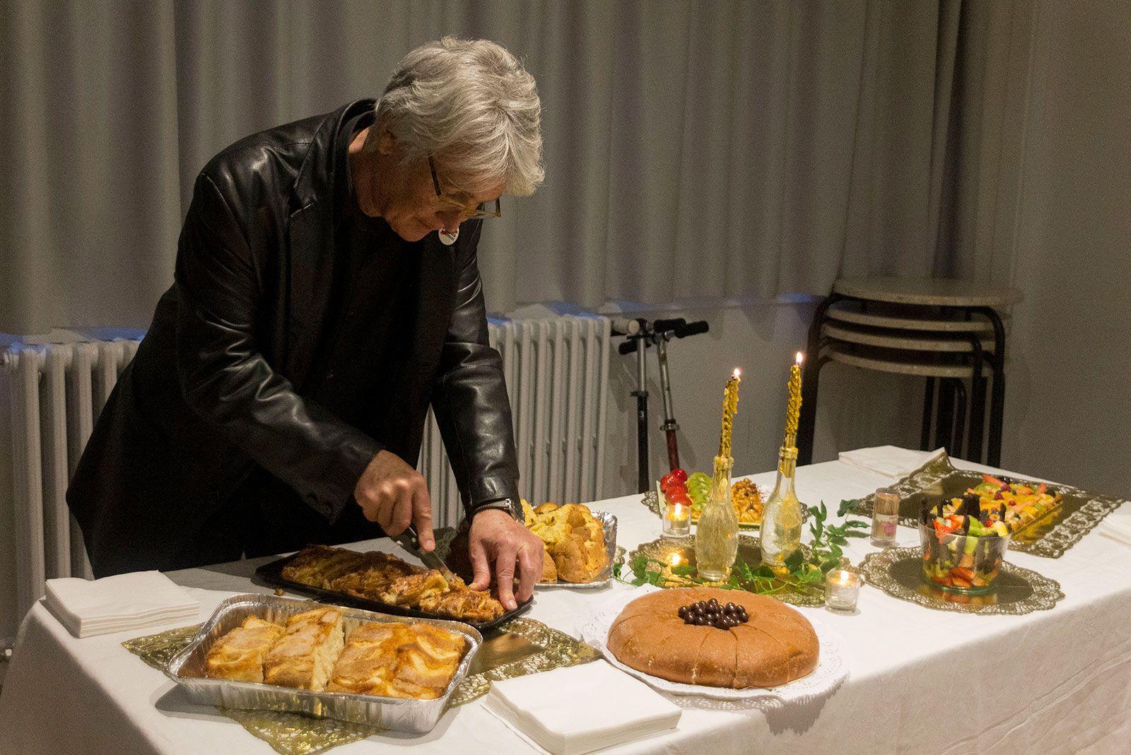 Celebració de l'aniversari del Banc del Temps. FOTO: Paula Galván