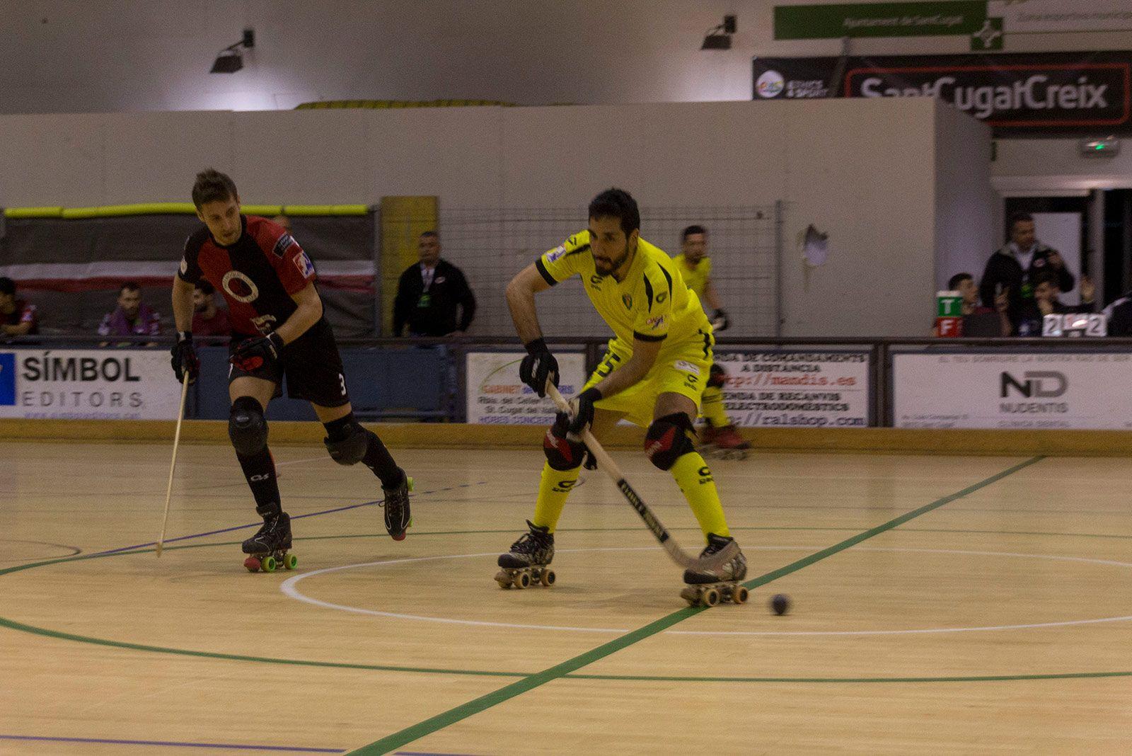 Partit de lliga PHC Sant Cugat - CE Vendrell. FOTO: Paula Galván