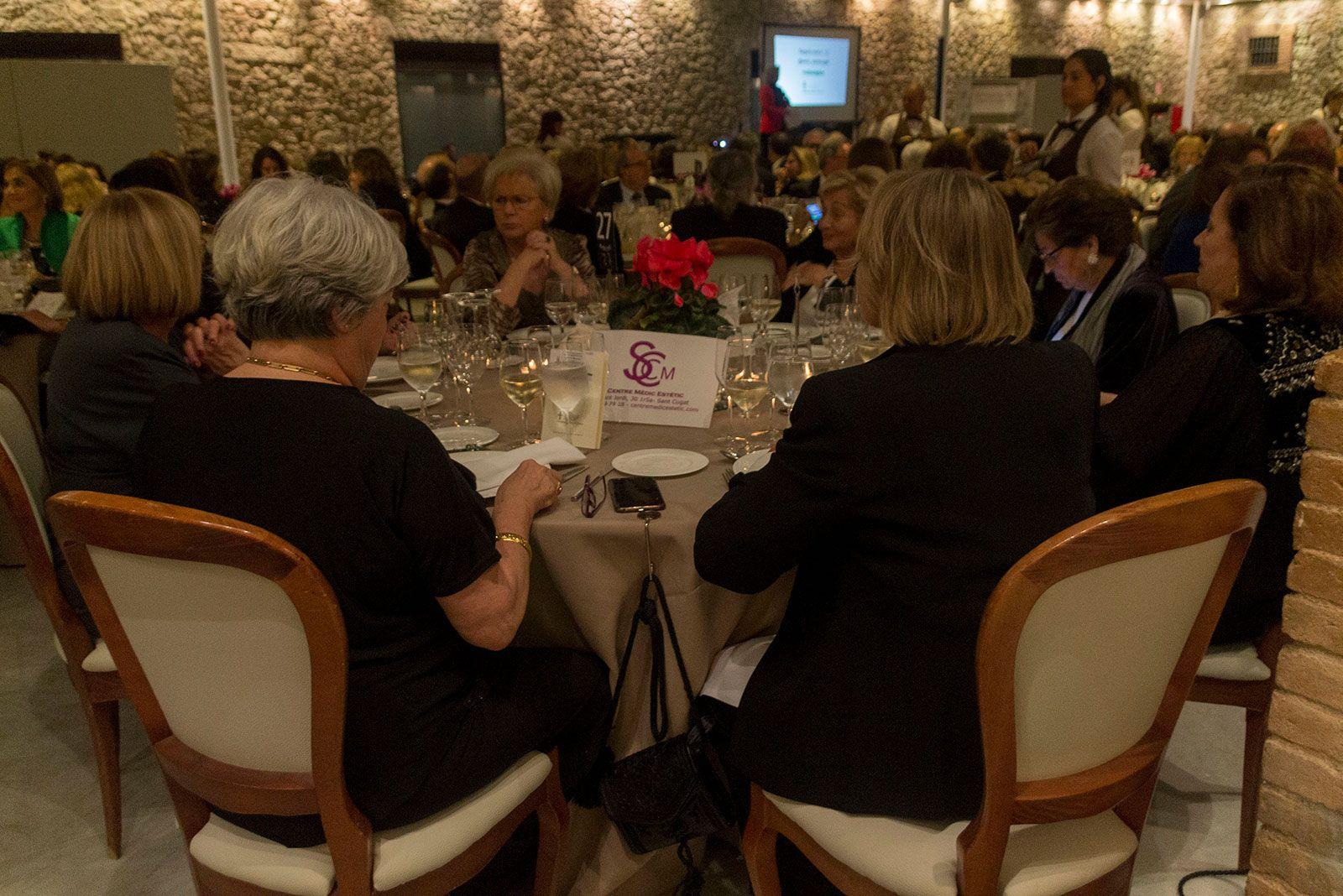 Sopar anual contra el càncer. FOTO: Paula Galván