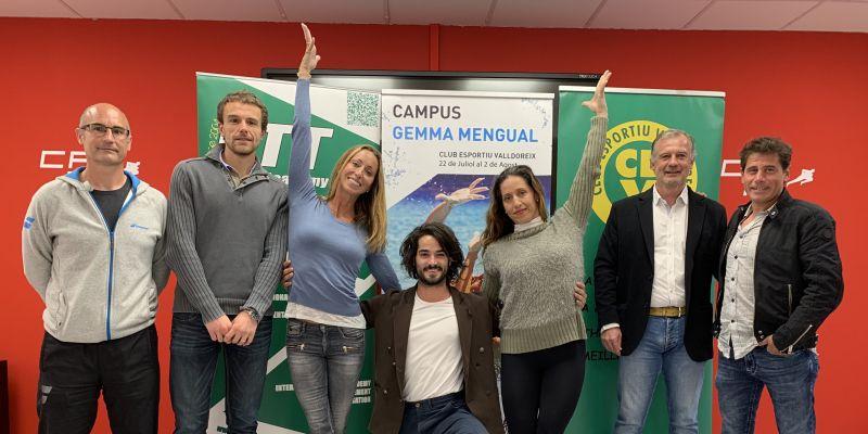 S'obren les inscripcions del 6è Campus Gemma Mengual de natació artística