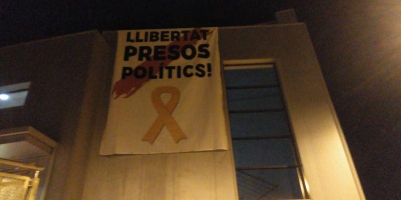 L'EMD de Valldoreix retirarà la pancarta dels presos si rep el requeriment