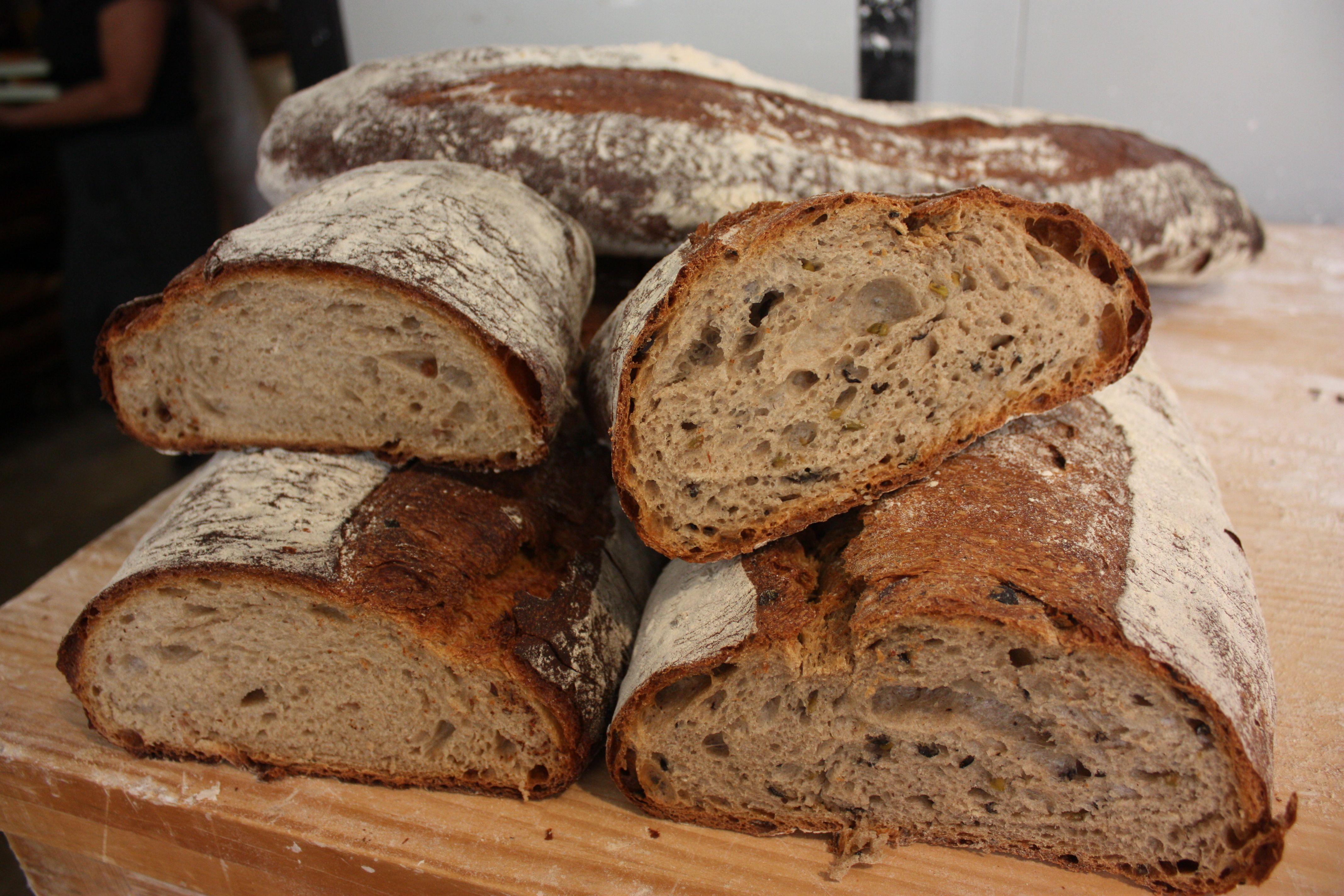 Alguns dels seus pans estan fets seguint la metodologia 'Respectus Panis' FOTO: Cedida