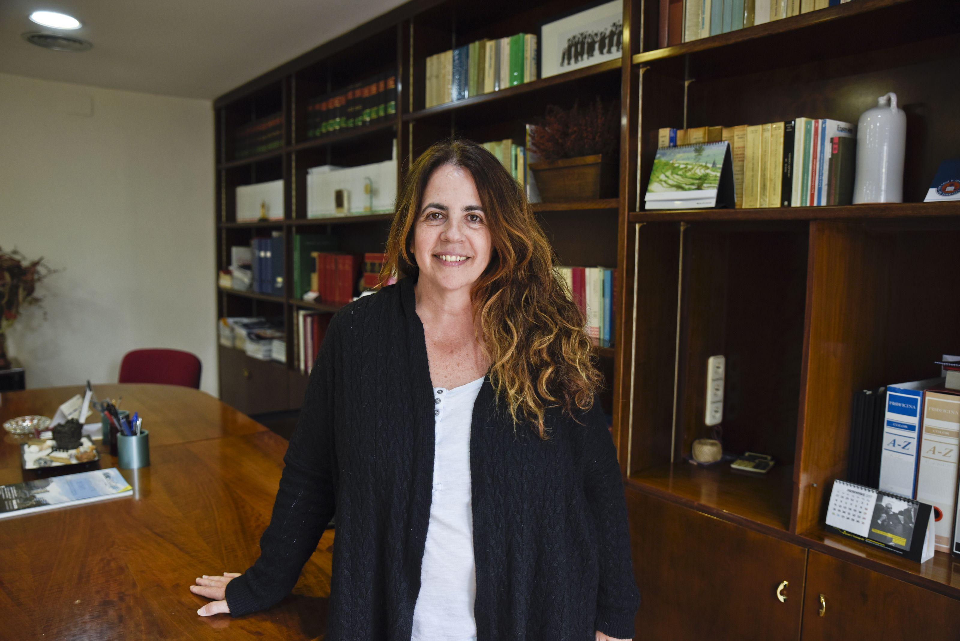 Lourdes Llorente, advocada FOTO: Bernat Millet
