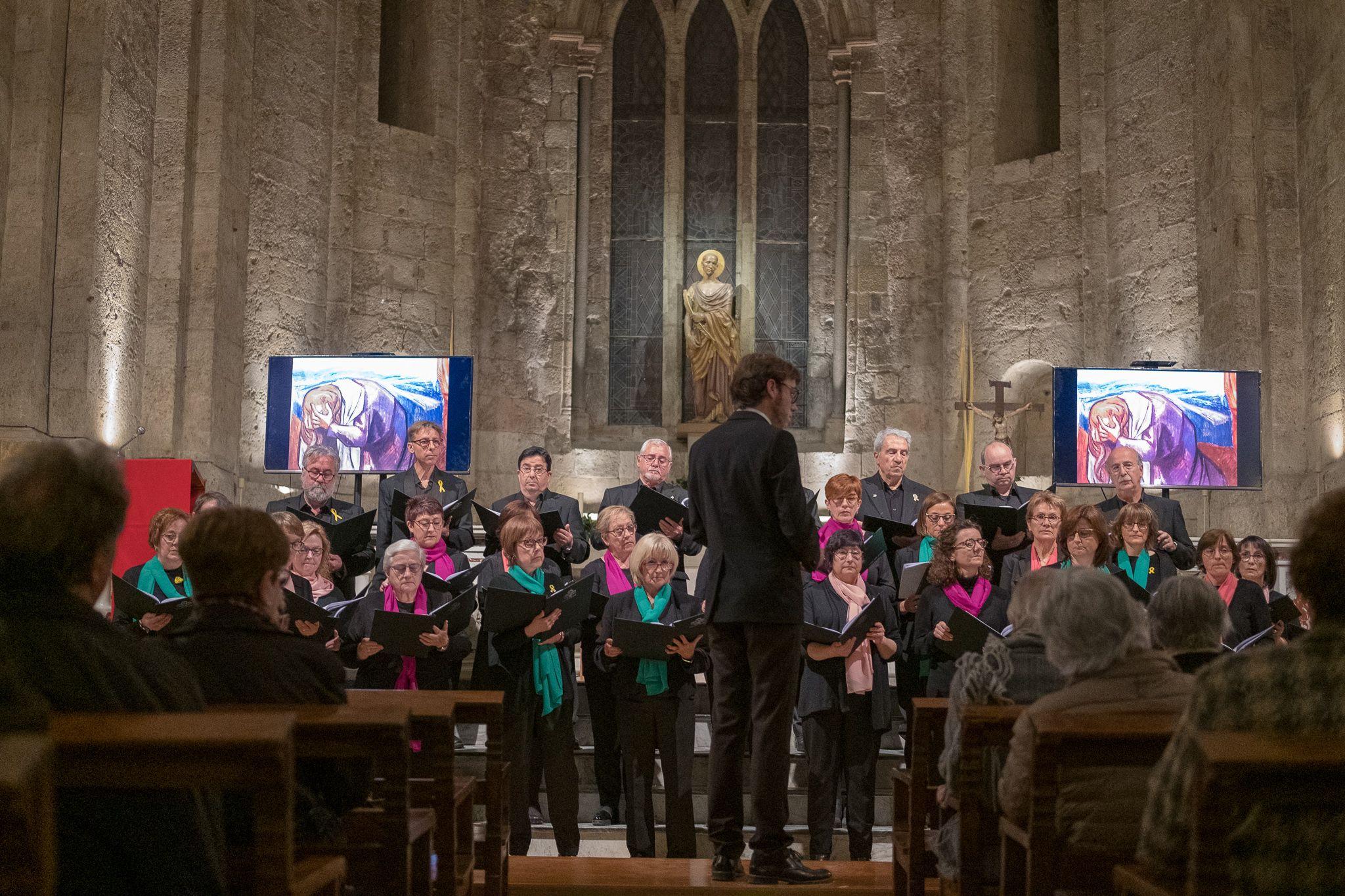 Concert a l'església, 'Les set paraules de Crist a la creu' de César Franck. FOTO: Ale Gómez