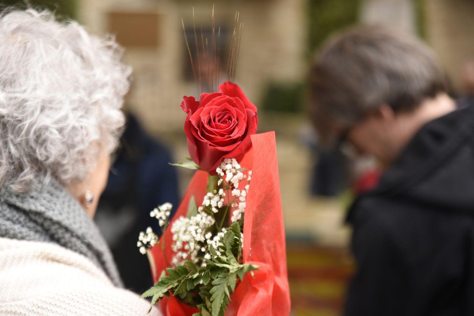 La diada de Sant Jordi a Sant Cugat. Foto: Bernat Millet.