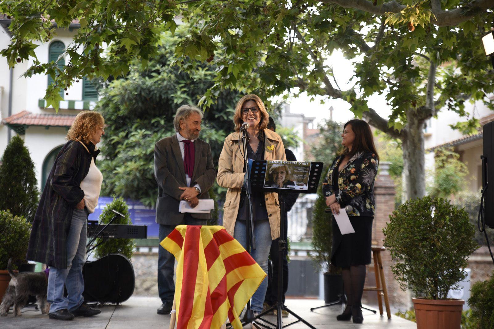 Recital d'homenatge a Marta Pessarrodona. Foto: Bernat Millet.