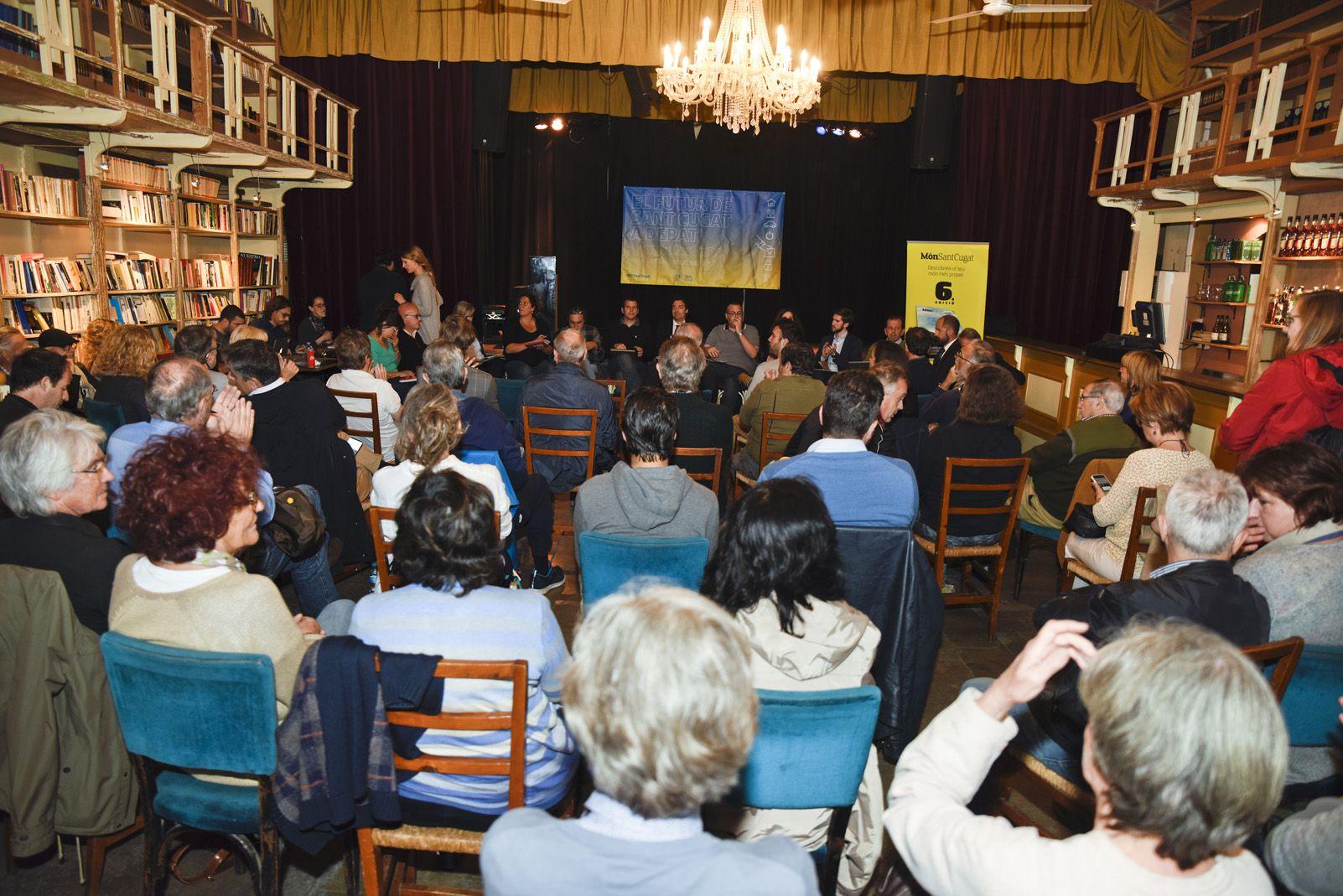 3er Debat Electoral: Habitatge. Foto: Bernat Millet.