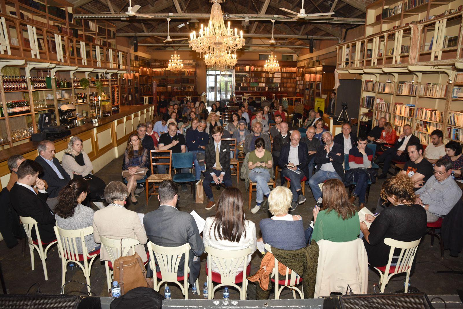 4t Debat Electoral: Equipaments. Foto: Bernat Millet.