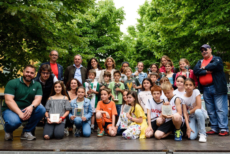 Lliurament de premis de la 61a Marxa Infantil. Foto: Miguel López Mallach