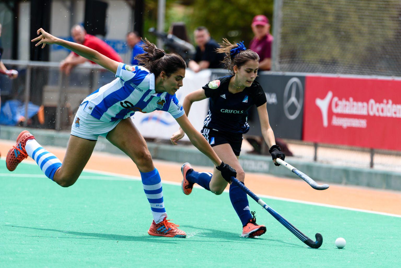 Junior FC. Hoquei sobre hierba femení. Foto: Miguel López Mallach
