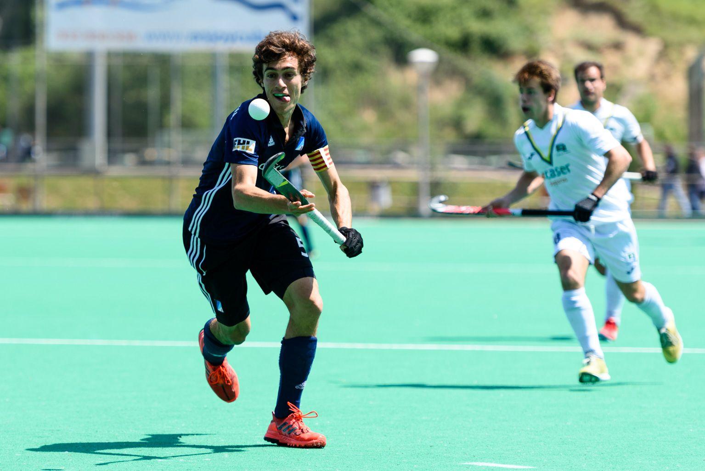 Junior FC. Hoquei sobre hierba masculí. Foto: Miguel López Mallach