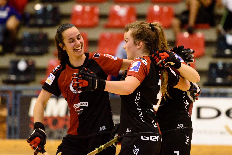 PHC Sant Cugat. Hoquei sobre patins femení. Foto: Miguel López Mallach