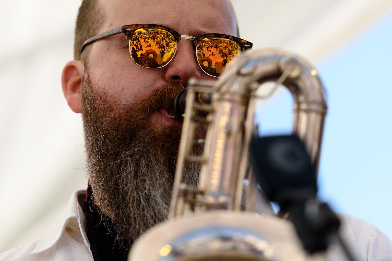 Música en directa: Erwyn Seerutton Swing Quartet. Foto: Miguel López Mallach