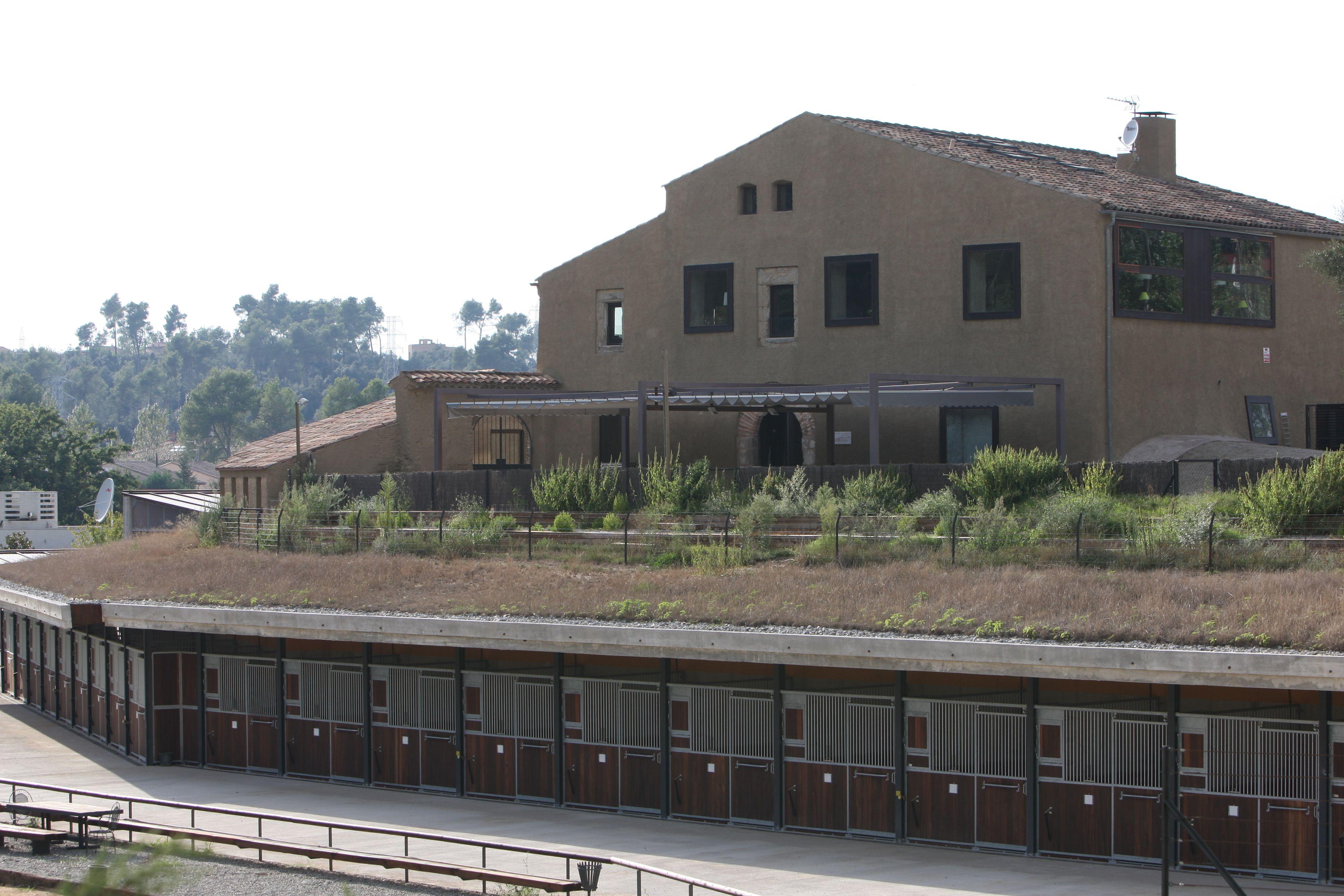 La masia està ubicada a Can Trabal FOTO: Cedida