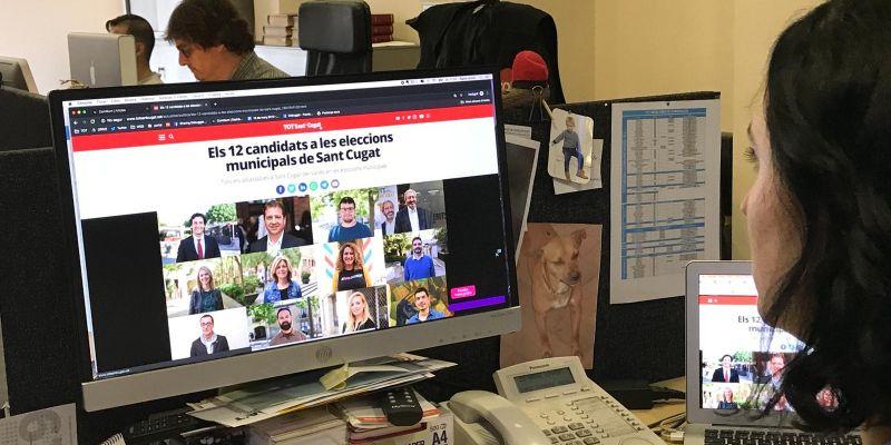 Àmplia cobertura del TOT Sant Cugat durant les eleccions municipals