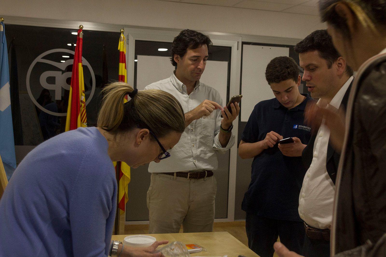 Nit electoral del 26M. FOTO: Paula Galván