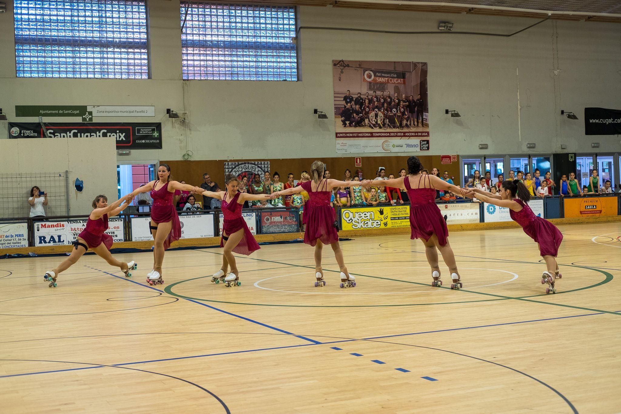 Festival de l'Escola de Patinatge Artístic de Sant Cugat. FOTO: Ale G.