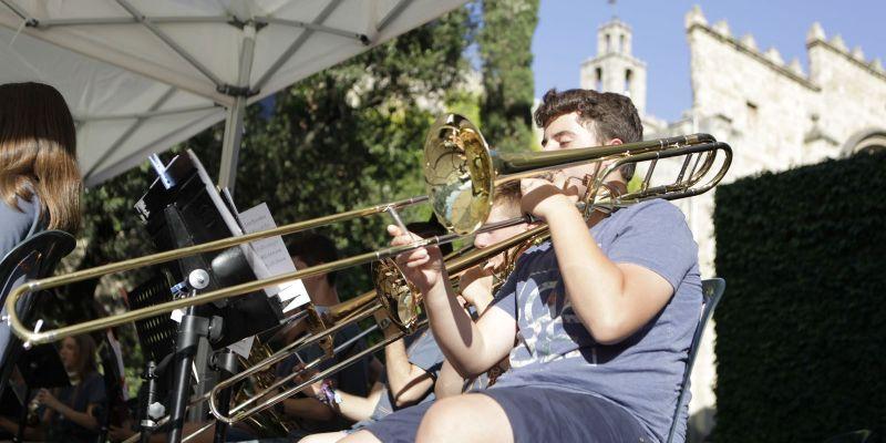 Les melodies polièdriques d'Eduard Iniesta posen punt final al Cicle de Concerts de Can Monmany