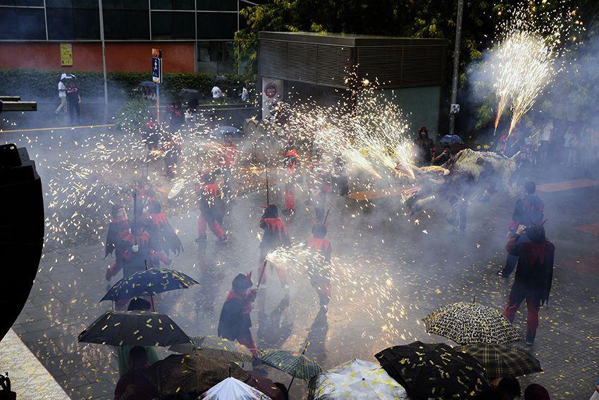 Pregó de Festa Major Sant Cugat. Foto: Bernat Millet.