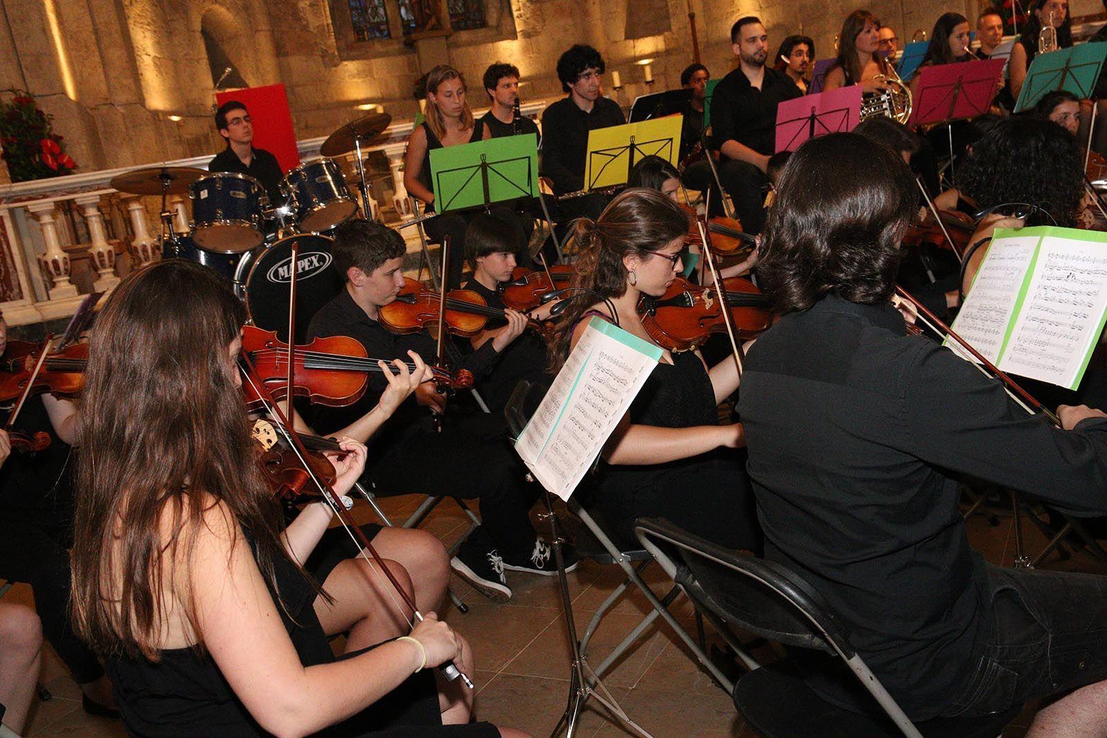 Concert de Festa Major amb l'Orquestra Simnfònica Fusió. Foto: Lali Álvarez