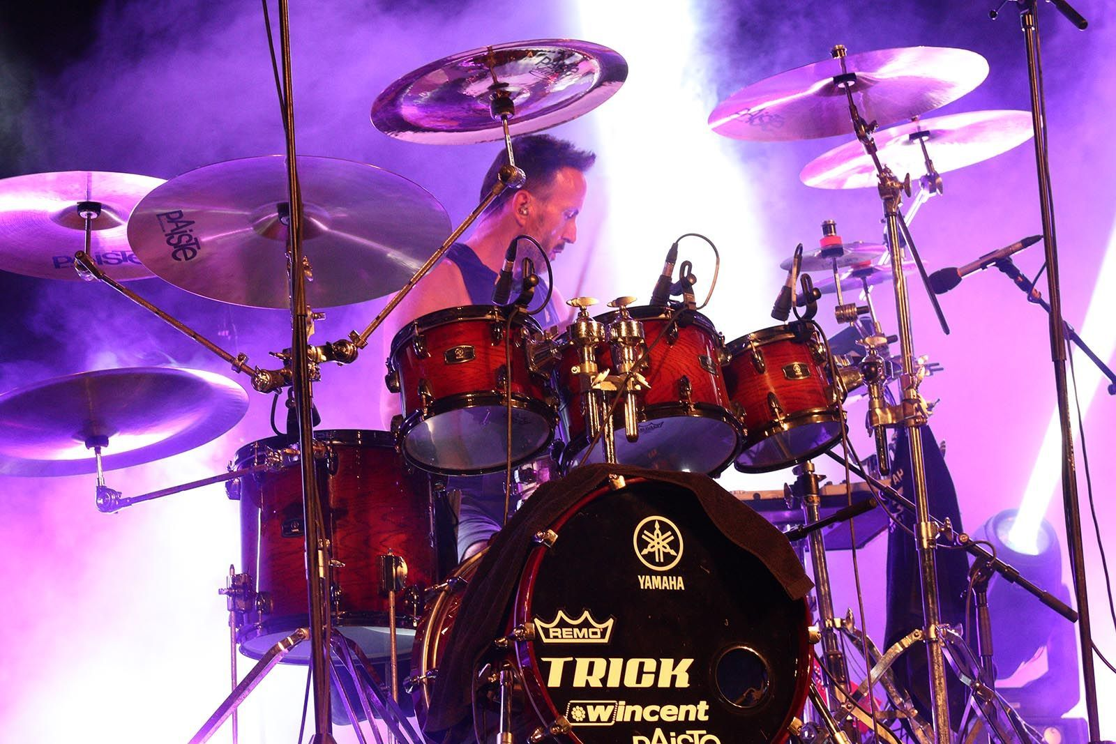 Apache en concert. Foto: Lali Álvarez