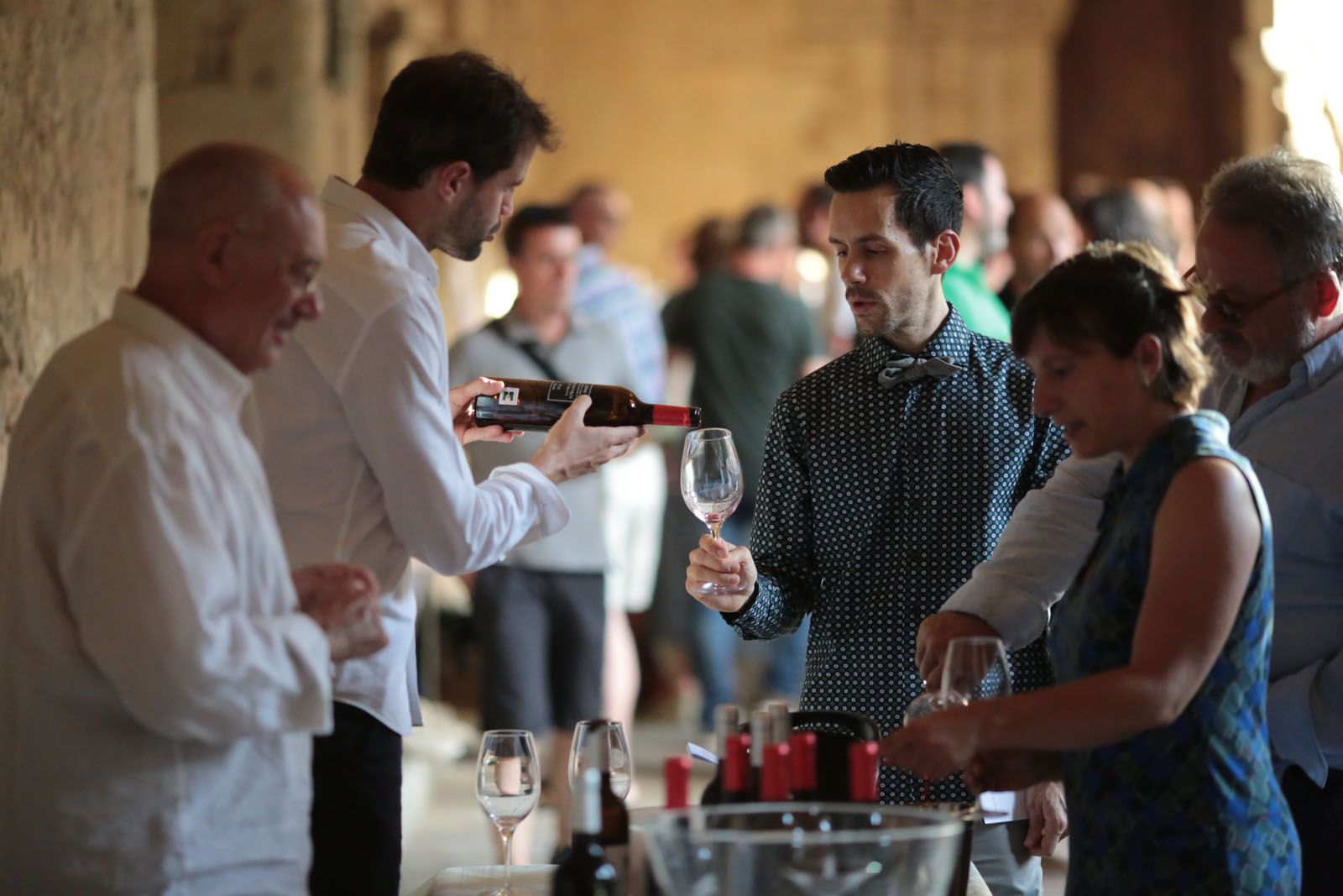 Tast de vins amb ritme FOTO: Artur Ribera