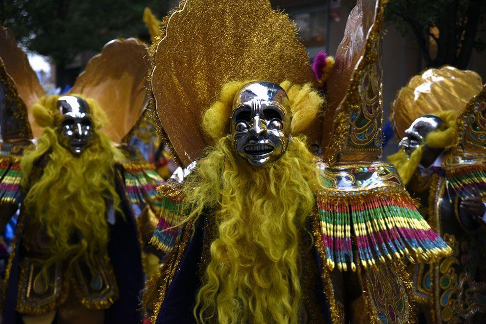 Rua de balls tradicionals: De Bolivia a Sant Cugat. Foto: Bernat Millet.