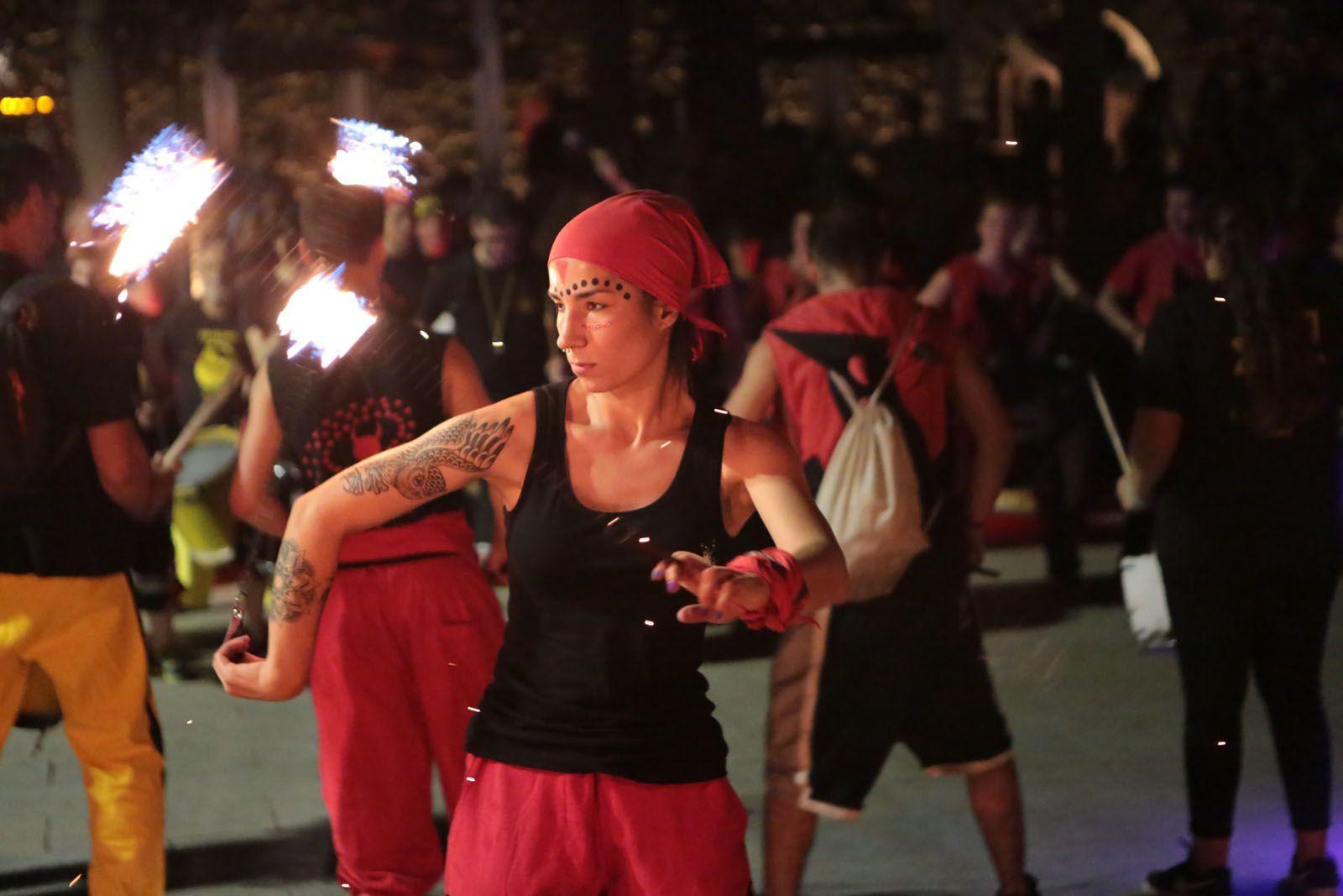 Correfoc diables Festa Major 2018 FOTO: Artur Ribera